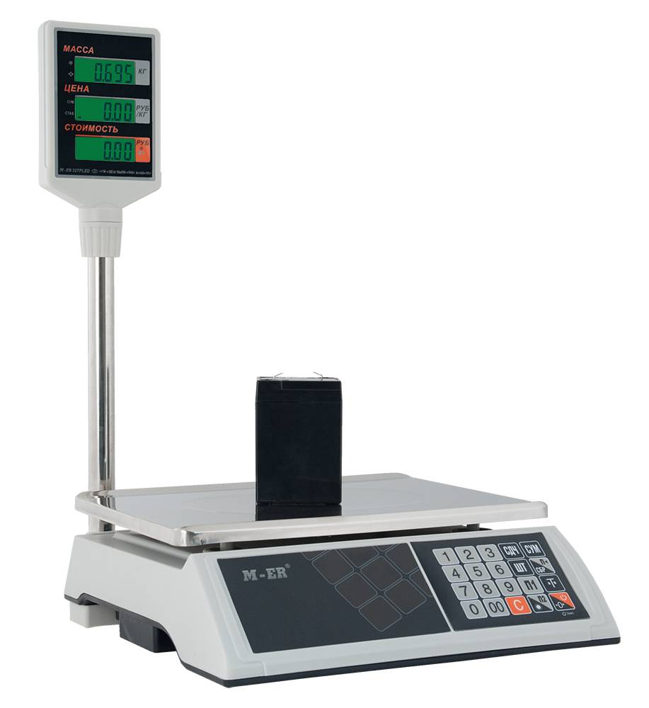 M-ER 327АСP-15.2 с АКБ (со стойкой) LCD